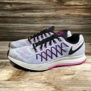 Nike Zoom Pegasus 32 Gray Running Shoes Women 10